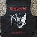Blasphemy - Battle Jacket - Painted leather vest