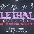 Lethal Tour shirt (Signed)