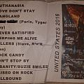 Tygers of Pan Tang Setlist Other Collectable