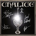 Chalice Vinyl (Signed) Tape / Vinyl / CD / Recording etc