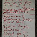 Vicious Rumors Setlist