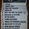 Q5 setlist Other Collectable