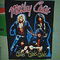 Mötley Crüe backpatch #2