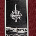 KTDF Kill Town Death Metal pin badge