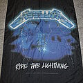 Metallica - Other Collectable - Metallica – Ride The Lightning poster flag