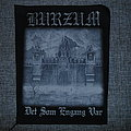 Burzum ‎– Det Som Engang Var backpatch