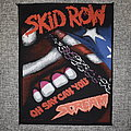 Skid Row - Patch - Skid Row – On Say Can You Scream