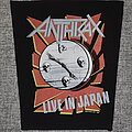 Anthrax - Patch - Anthrax – Live In Japan 1990