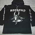 Bathory hoodie Hooded Top