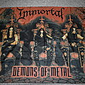 Immortal - Other Collectable - Immortal – Demons Of Metal poster flag