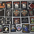 Metallica - Patch - Metallica Slayer Anthrax Megadeth Grip Inc. patches