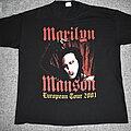 Marilyn Manson - TShirt or Longsleeve - Marilyn Manson European Tour 2001