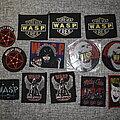 Mötley Crüe - Patch - Mötley Crüe, W.A.S.P. patches