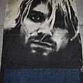 Nirvana - Other Collectable - Nirvana / Kurt Cobain poster flag