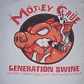 Mötley Crüe - Patch - Motley Crue Generation Swine shirt