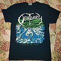 Obituary - TShirt or Longsleeve - Obituary frozen in time navy