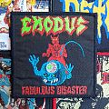 Vintage Exodus Fabulous Disaster woven patch
