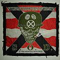 S.O.D. Speak English Or Die Vintage Woven Patch