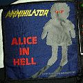 Annihilator Alice In Hell Vintage Woven Patch