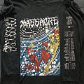 Massacre Insanity Over Europe 1992 TShirt or Longsleeve