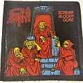Death - Scream Bloody Gore Vintage Rubber Patch