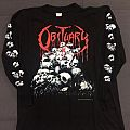 Obituary Pile Of Skull 1991 LS TShirt or Longsleeve