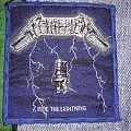 Metallica Ride the Lightning blue border Patch