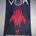 Von Satanic Blood Ritual woven patch