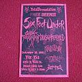 Six Feet Under, Decapitated, Krisiun/Flyer