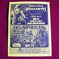 Megadeth,Iron Maiden/Flyer