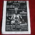 Nile, Naplam Death, SYL, Dark Tranquillity, The Berzerker/Flyer