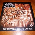 Nausea / Condemned To The System Marbled Multi-color LP