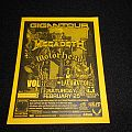 Megadeth  / Flyer Other Collectable