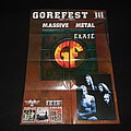 Gorefest / Poster Other Collectable