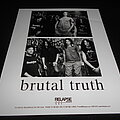 Brutal Truth - Other Collectable - Brutal Truth / Promo