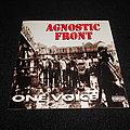 Agnostic Front - Tape / Vinyl / CD / Recording etc -  Agnostic Front / One Voice