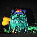 Dark Angel - Tape / Vinyl / CD / Recording etc -  Dark Angel / Darkness Descends Green LP