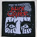 Spend the night with Alice Cooper patch
