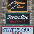 Status Quo Original Woven Patches