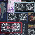 Thin Lizzy - Patch - Thin Lizzy Black Rose Woven Vintage Patches