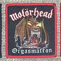 Motörhead - Patch - Motörhead Orgasmatron Original and Bootleg Patches (comparison)