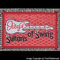 Dire Straits Sultans of Swing Original Woven Patch