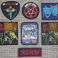 Mötley Crüe + Skid Row Original Vintage Woven Patches