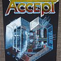 Accept - Patch - Accept Metal Heart Vintage Backpatch