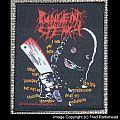 PUNGENT STENCH Dirty Rhymes and Psychotronic Beats Woven Patch