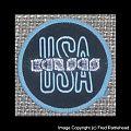 Kansas - Patch - Kansas USA Woven Round Patch