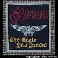 SAXON The Eagle Has Landed Woven Vintage Patch