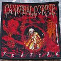 Cannibal Corpse - Patch - Cannibal Corpse Torture Bangcock Deathfest 2012 Patch