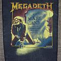 Megadeth - Patch - Megadeth Rest in Peace R.I.P. Mary Jane Vintage Backpatch