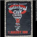 Heavy Metal Holocaust Festival 1981 Original Woven Patch
